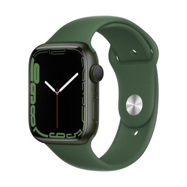 apple_watch_series_7_gps_45mm_green_aluminum_clover_sport_band_34fr_screen__usen_3